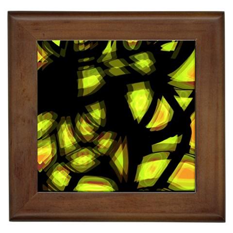 Yellow light Framed Tiles