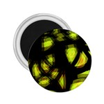 Yellow light 2.25  Magnets Front