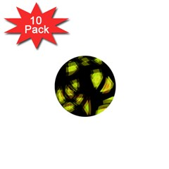 Yellow light 1  Mini Buttons (10 pack)