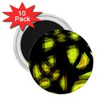 Yellow light 2.25  Magnets (10 pack)  Front