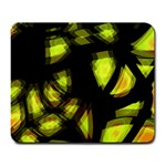 Yellow light Large Mousepads Front