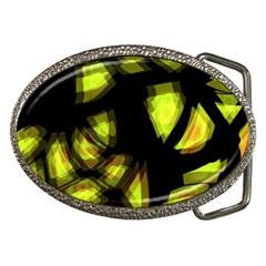 Yellow Light Belt Buckles