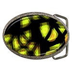 Yellow light Belt Buckles Front