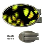 Yellow light Money Clips (Oval)  Front