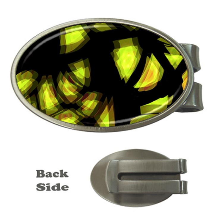 Yellow light Money Clips (Oval)