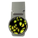 Yellow light Money Clips (Round)  Front