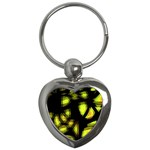 Yellow light Key Chains (Heart)  Front