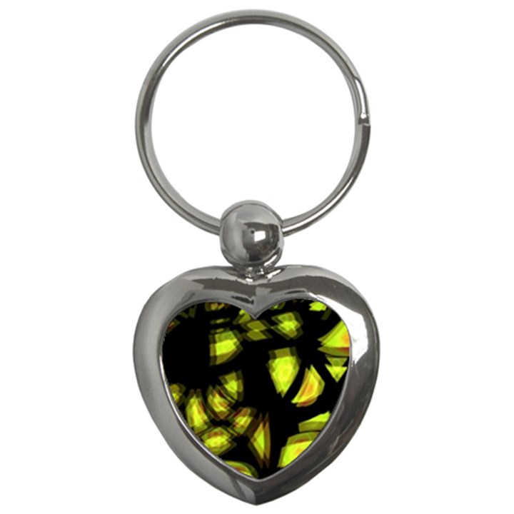 Yellow light Key Chains (Heart)