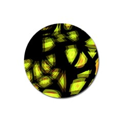Yellow Light Magnet 3  (round)