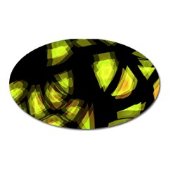 Yellow light Oval Magnet