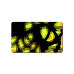 Yellow Light Magnet (name Card)