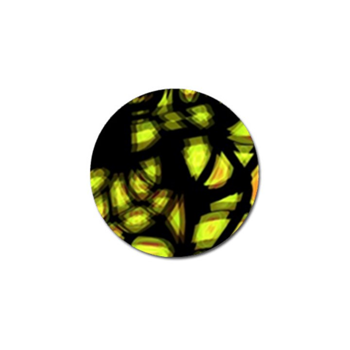 Yellow light Golf Ball Marker