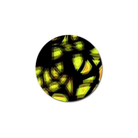 Yellow light Golf Ball Marker (10 pack)
