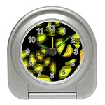 Yellow light Travel Alarm Clocks Front