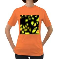 Yellow light Women s Dark T-Shirt