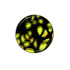 Yellow Light Hat Clip Ball Marker (4 Pack)