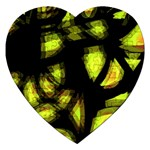 Yellow light Jigsaw Puzzle (Heart) Front