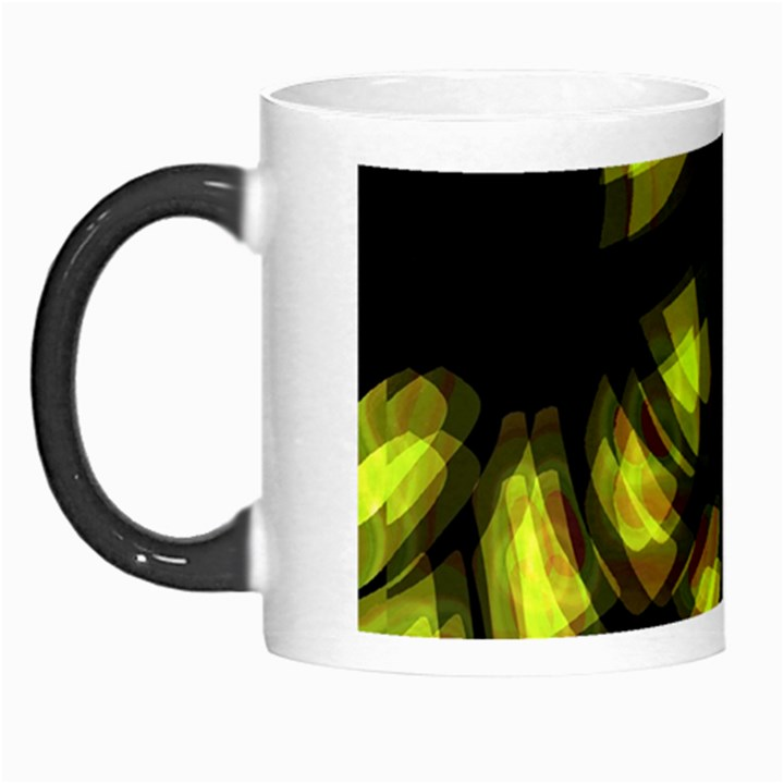 Yellow light Morph Mugs