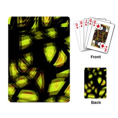 Yellow light Playing Card
