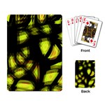 Yellow light Playing Card Back