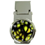 Yellow light Money Clip Watches Front
