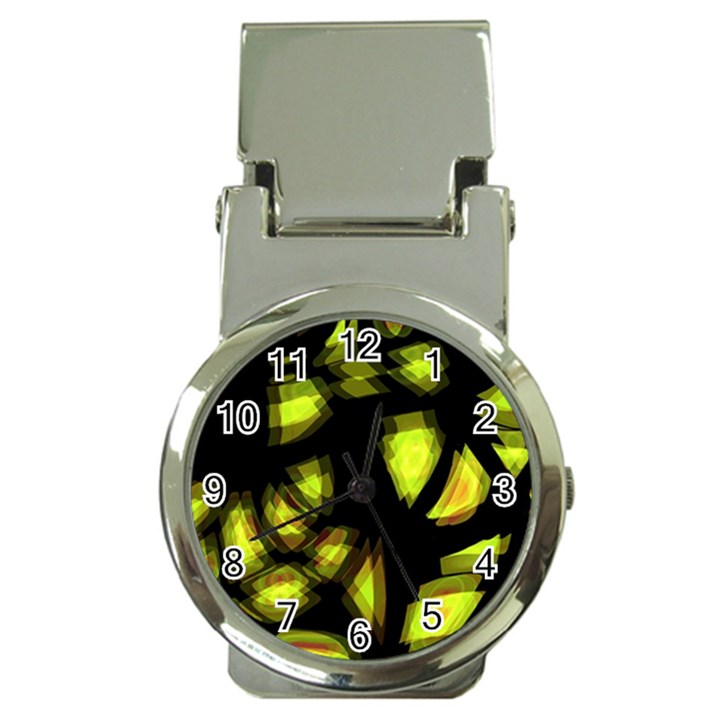 Yellow light Money Clip Watches