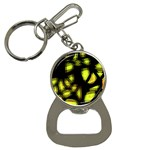 Yellow light Bottle Opener Key Chains Front