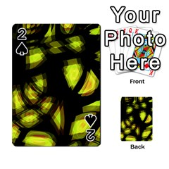 Yellow Light Playing Cards 54 Designs