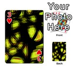 Yellow light Playing Cards 54 Designs  Front - Heart3