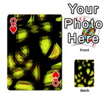 Yellow light Playing Cards 54 Designs  Front - HeartQ