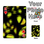 Yellow light Playing Cards 54 Designs  Front - HeartK