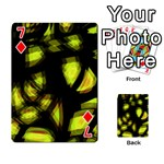 Yellow light Playing Cards 54 Designs  Front - Diamond7