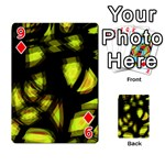 Yellow light Playing Cards 54 Designs  Front - Diamond9