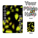Yellow light Playing Cards 54 Designs  Front - Joker1