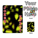 Yellow light Playing Cards 54 Designs  Front - Joker2