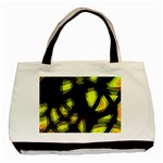 Yellow light Basic Tote Bag Front