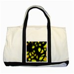 Yellow light Two Tone Tote Bag Front
