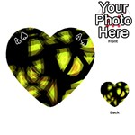 Yellow light Playing Cards 54 (Heart)  Front - Spade4