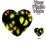 Yellow light Playing Cards 54 (Heart)  Front - HeartA