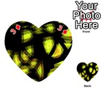 Yellow light Playing Cards 54 (Heart)  Front - Diamond3
