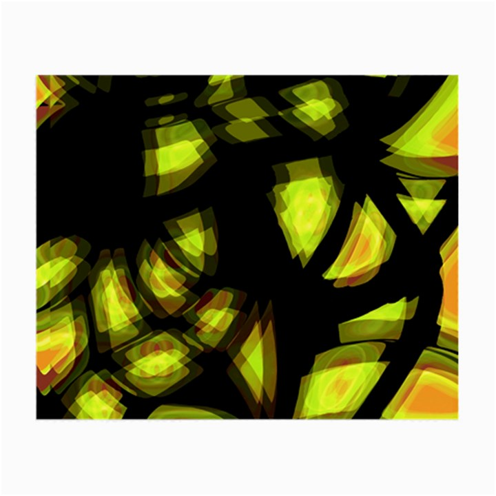 Yellow light Small Glasses Cloth (2-Side)