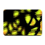 Yellow light Small Doormat  24 x16 Door Mat - 1
