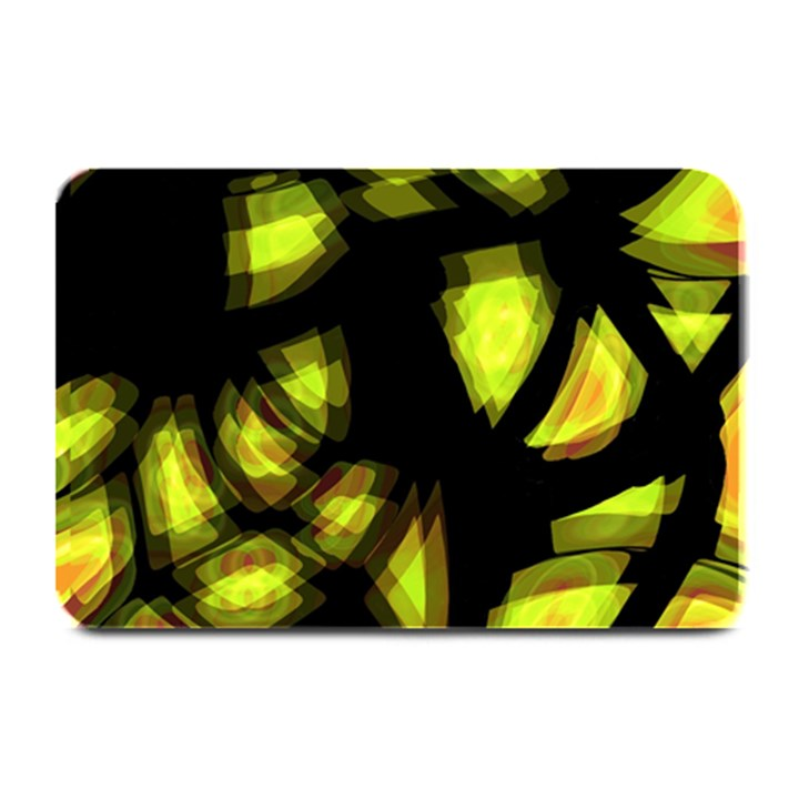 Yellow light Plate Mats