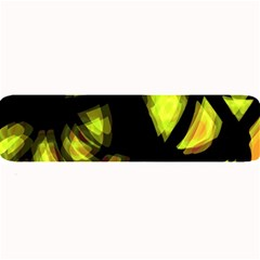 Yellow light Large Bar Mats