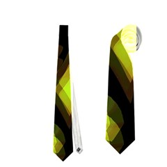 Yellow light Neckties (Two Side)
