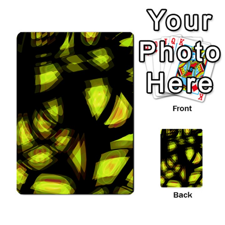 Yellow light Multi-purpose Cards (Rectangle)