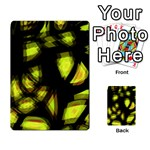 Yellow light Multi-purpose Cards (Rectangle)  Back 37