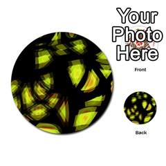 Yellow Light Multi Purpose Cards (round)
