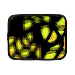 Yellow light Netbook Case (Small)