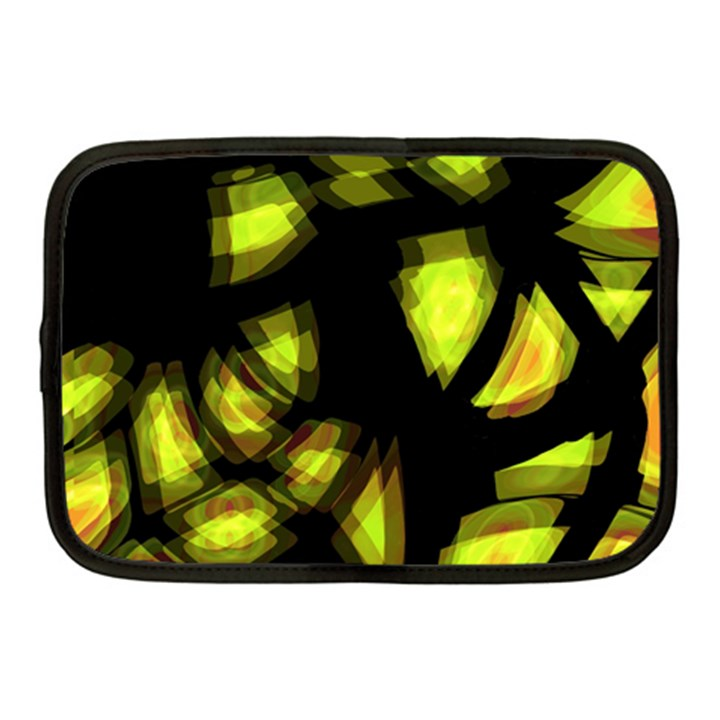 Yellow light Netbook Case (Medium)